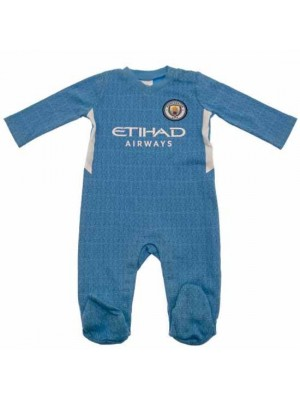 Manchester City FC Sleepsuit 0/3 Months SQ