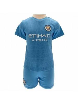 Manchester City FC Shirt & Short Set 2/3 Year SQ