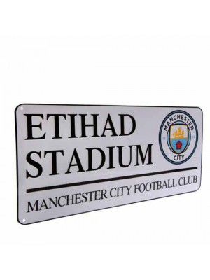 Manchester City FC Street Sign