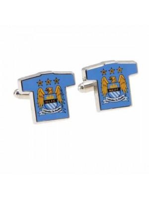 Manchester City FC Cufflinks Shirt