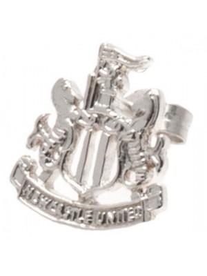 Newcastle United FC Sterling Silver Stud Earring