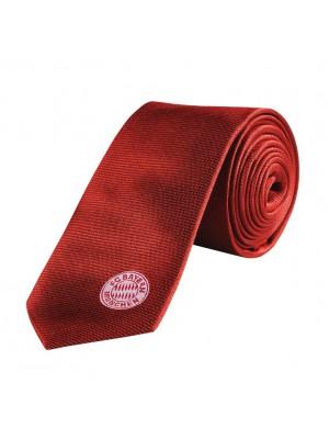 FC Bayern tie - red - logo