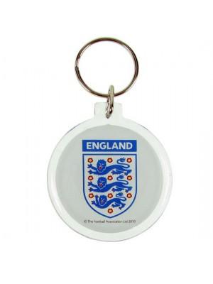 England FA Acrylic Crest Keyring