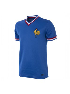 France 1971 Short Sleeve Retro Football Shirt
