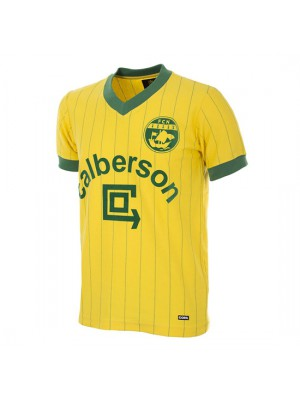 FC Nantes 1982 - 83 Short Sleeve Retro Football Shirt