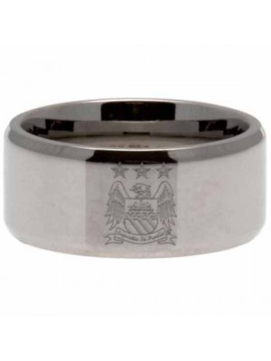 Manchester City FC Band Ring Medium EC