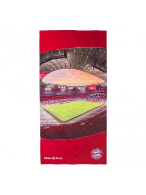 FC Bayern Munich beach towel - Allianz Arena