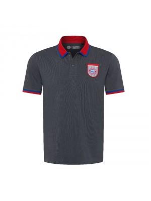 FC Bayern Munchen Polo Shirt - retro grey
