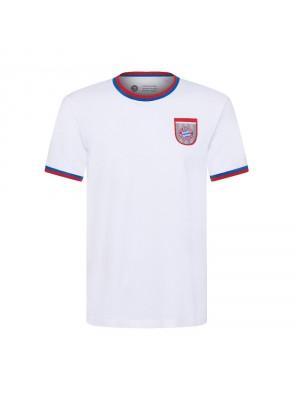 FC Bayern Munchen T-Shirt - retro white