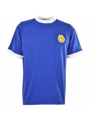 Argentina 1960S Away Retro Football Shirt