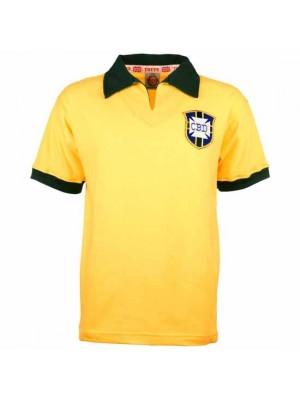 Brazil 1958 World Cup Retro Football Shirt