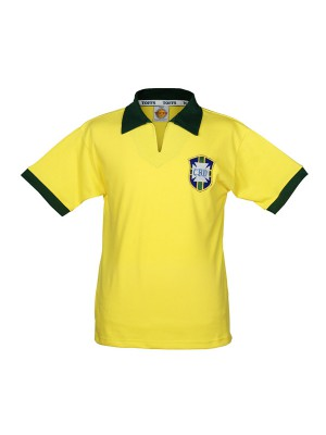 Brazil 1958 world cup retro football jersey