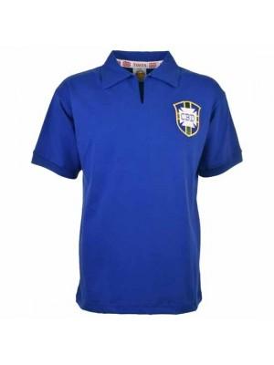 Brazil 1958 World Cup Away Retro Football Shirt