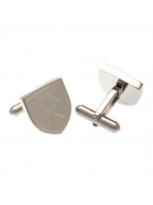 West Ham United FC Stainless Steel Cufflinks CR