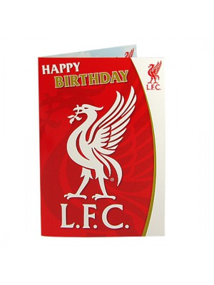 Liverpool FC Musical Birthday Card