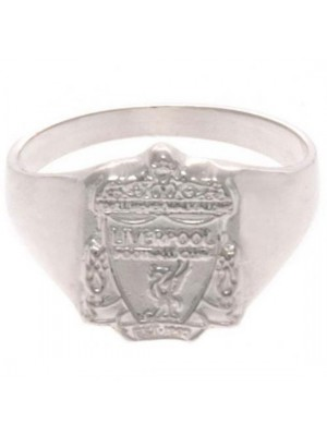 Liverpool FC Sterling Silver Ring Small