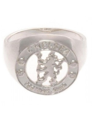 Chelsea FC Sterling Silver Ring Large