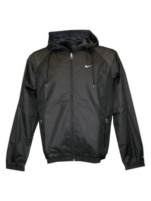reversible hooded jacket - mens