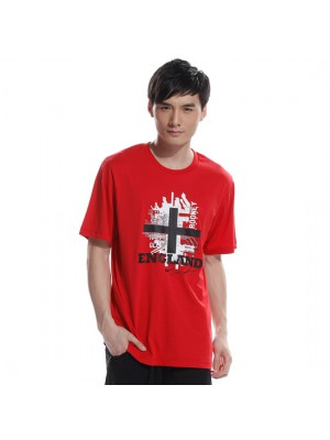 England tee Rooney - red