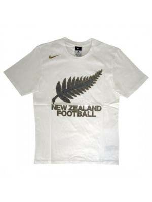 New Zealand All Whites tee World Cup 2010 - white