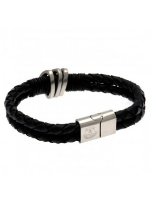 Everton FC Leather Bracelet