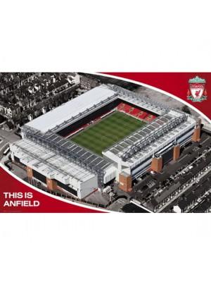 Liverpool FC Poster Stadium 13