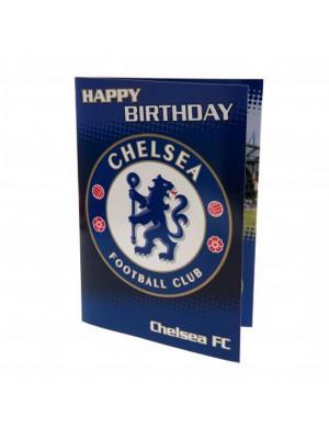 Chelsea FC Musical Birthday Card