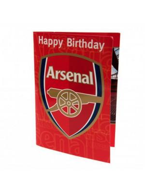 Arsenal Fc Musical Birthday Card
