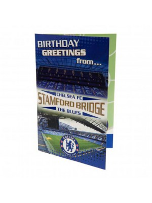 Chelsea FC Pop Up Birthday Card