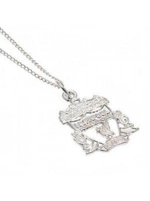 Liverpool FC Sterling Silver Pendant & Chain CR