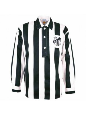 Santos 1950S-1960S Away Retro Football Shirt