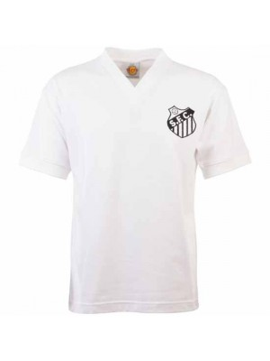 Santos 1950S-1960S Retro Football Shirt