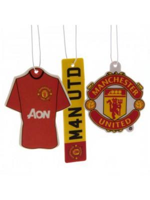 Manchester United FC 3pk Air Freshener