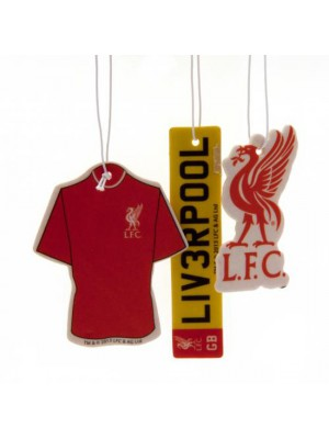 Liverpool FC 3 Pack Air Freshener