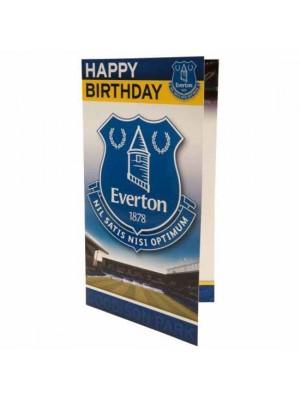 Everton FC Birthday Card