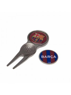 FC Barcelona Divot Tool & Marker