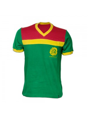 Copa Cameroon 1989 Short Sleeve Retro Shirt