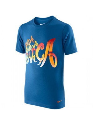 FC Barcelona tee core 2011/12 - blue - youth
