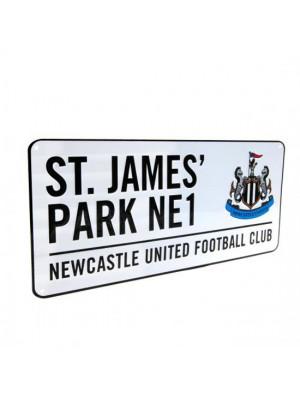 Newcastle United FC Street Sign