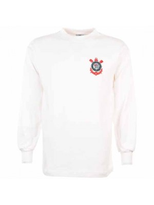 Corinthians Paulista 1970S Retro Football Shirt