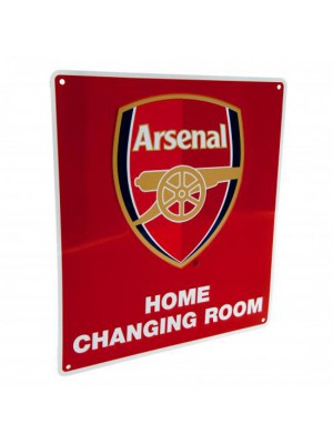 Arsenal FC Home Changing Room Sign
