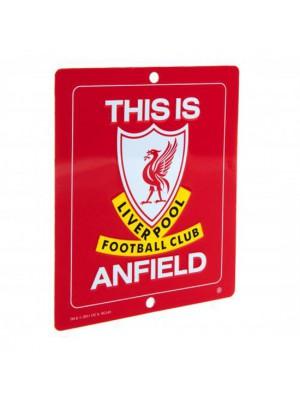 Liverpool FC Window Sign SQ
