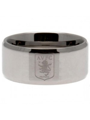 Aston Villa FC Band Ring Small