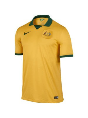 Australia home jersey World Cup 2014
