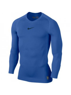 Nike Pro Combat long sleeve top - blue