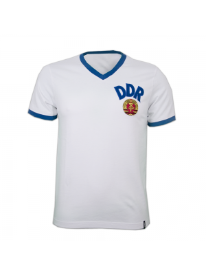 Copa DDR Away WC 1974 Short Sleeve Retro Shirt