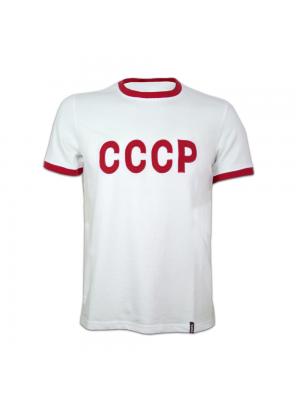 Copa Cccp Away 1970's Short Sleeve Retro Shirt