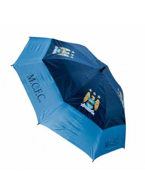 Manchester City FC Golf Umbrella Double Canopy