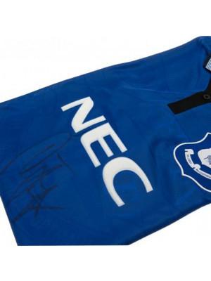 Everton FC Ferguson Signed Shirt