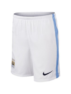 Manchester City home shorts 2015/16 – youth